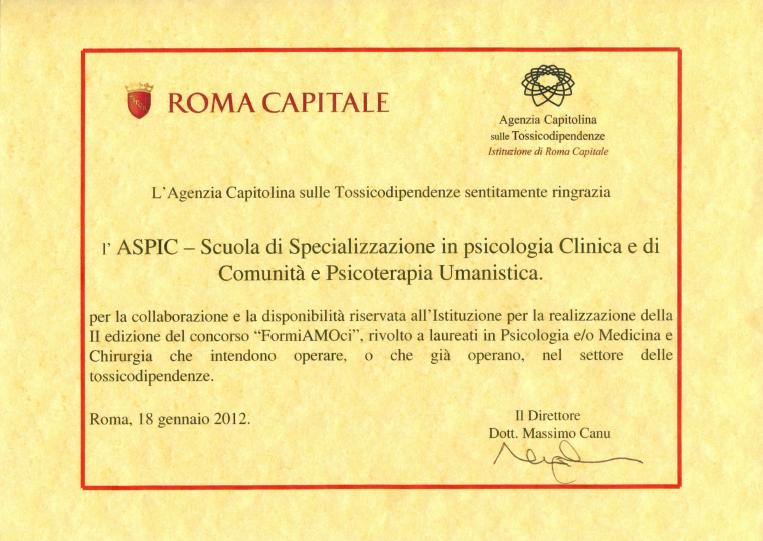 ASPIC per Roma Capitale - Associazione ASPIC PSICOLOGIA